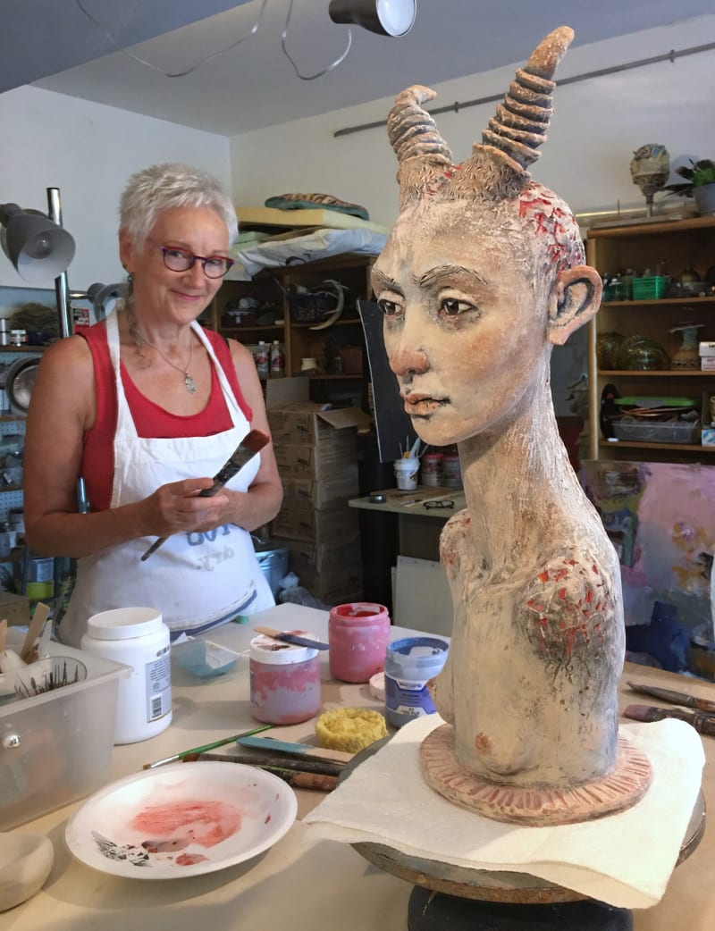 Gretel Boose ceramic art studio in Uxbridge