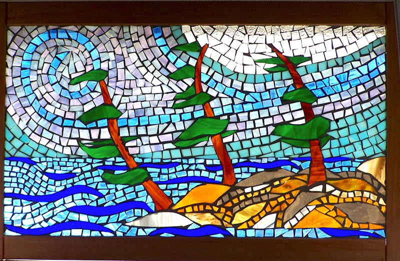 Sheryl Bunting stained glass art