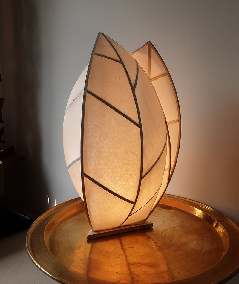 Fly Freeman, artist leaf lamp