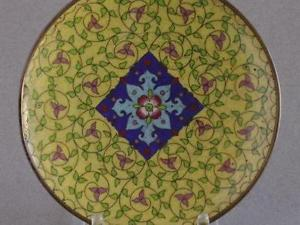 Example of Cloisonne Artwork