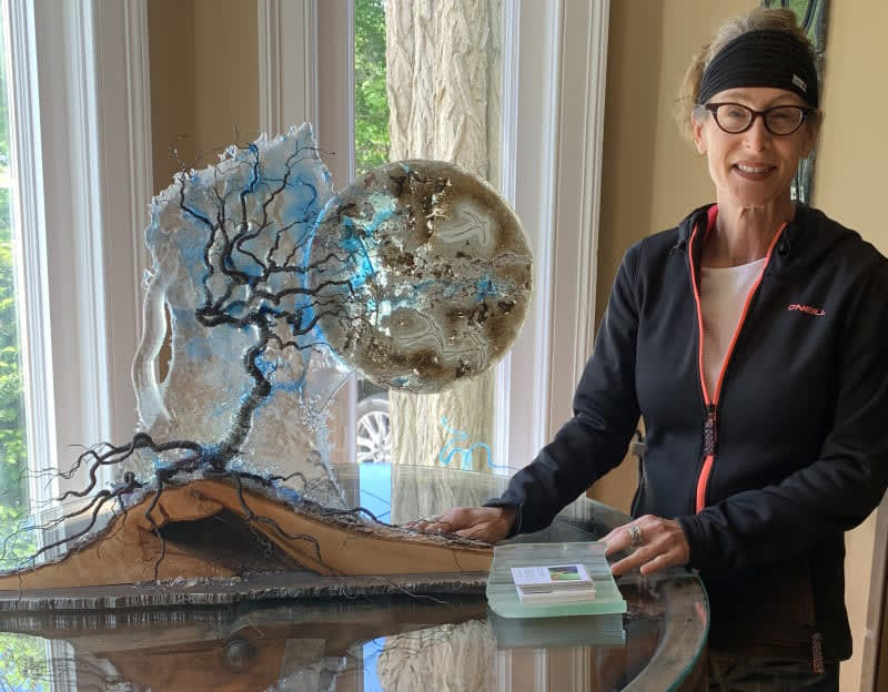 Gayle Temple, Glass Sculptor