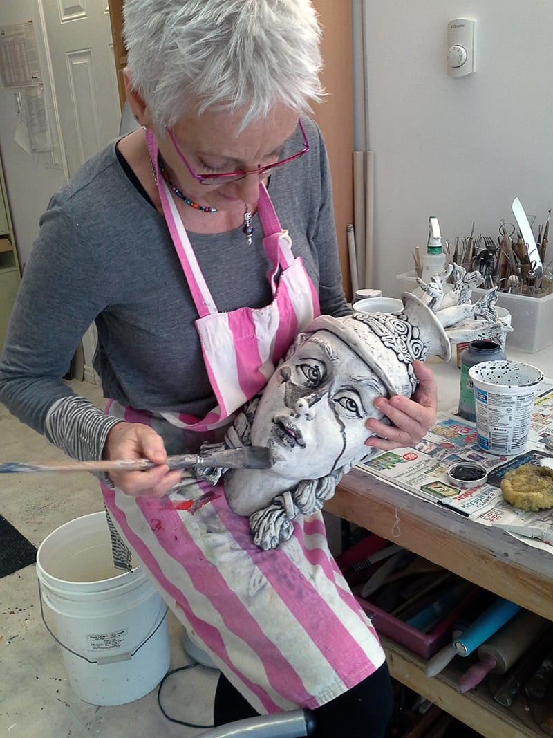 Gretel Boose, Uxbridge ceramic sculptor